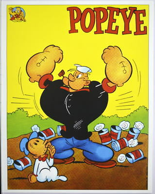 POPEYE & SWEET PEA Pin up Poster French Distribution  ()