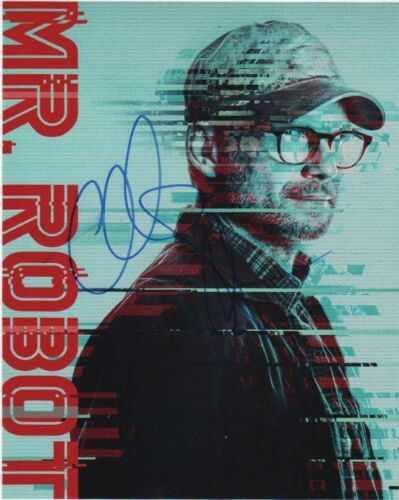 Christian Slater Mr Robot Autographed Signed 8x10 Photo COA #6