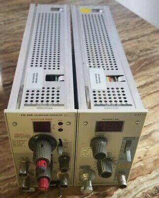 Tektronix Pg506 Calibration And Sg503 Leveled Sine Wave Generator