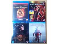 Hunger Games Blu-ray DVD's All 4