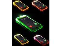 Led Flashing Shockproof iphone Cases Iphone 6 6s 6plus 7 and 8