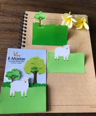 50 Per Package Sheepforest Sticky Notes Reminder Pad Memo Stickers Stationary