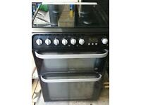 Hot point cooker gas top elec oven