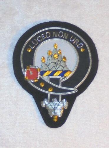 Royal Scottish Scotland Mackenzie Clan Crest Heraldry Family Name Arms COA Patch