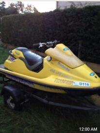 Boats and watercraft . Sea doo XP 800 cc