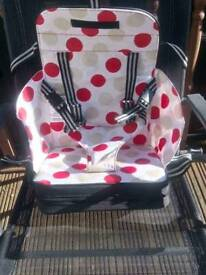 Travel booster seat (new)