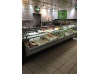 2 Deli Counters and 2 Group Coffee Machine for Quick Sale £1,000