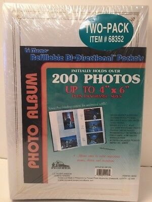 Pioneer Le Memo Bi-Directional Photo Album 200 Photos 4