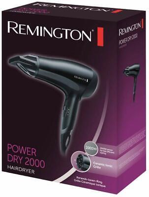 Remington D3010 Power Dry 2000 Professional Hairdryer Hair Dryer Ceramic Ionic