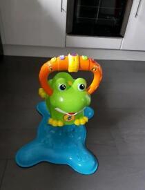 Vtech musical bouncing frog