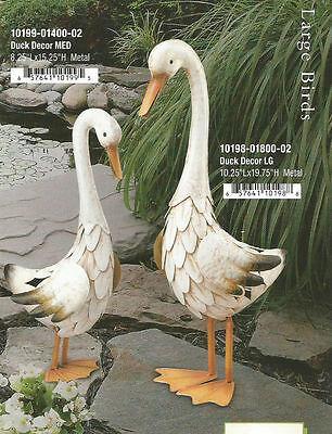 Garden Decor Bird Statuary - Duck Decor Set - Regal Art & Gift 10198-99
