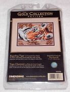 Counted Cross Stitch Kits Tiger