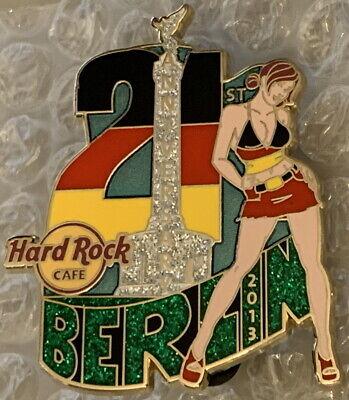 Duro Roca Café Berlín 2013 21st Aniversario Pin Sexy Chicas Victoria Columna...
