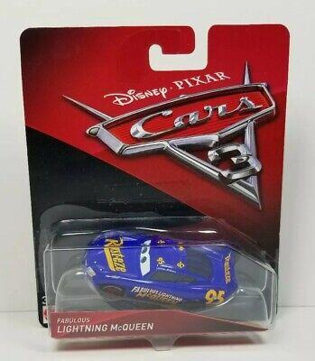 Disney Pixar Cars 3 Fabulous Lightning McQueen 1:55 Diecast Mattel