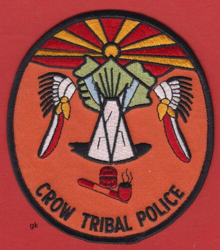 CROW TRIBAL POLICE SHOULDER PATCH  (Montana)