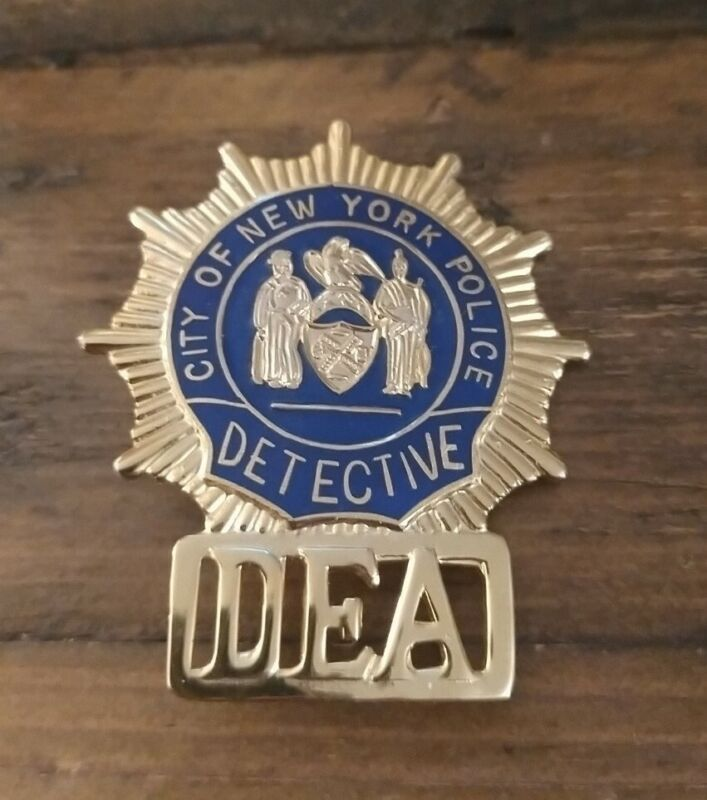 City of New York Police Detective DEA Obsolete hat pin