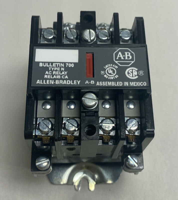 Allen Bradley 700-N400A1 Type N Control Relay Series C New No Box