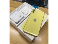 iPhone 11 64GB EE Network Yellow Pristine Condition + Warranty ☑️