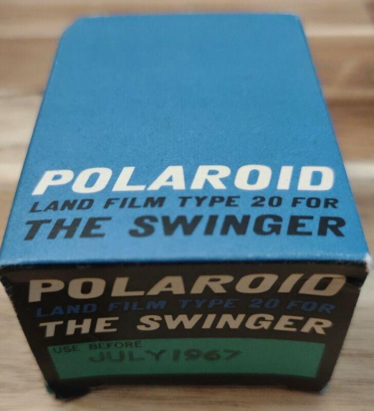 Vintage Polaroid Swinger Model 20 Instant Film Land Camera NOS
