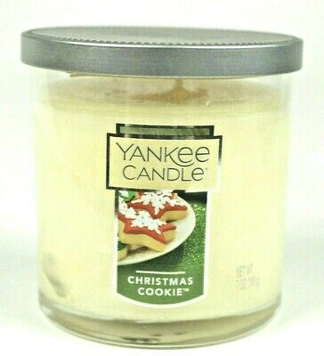 Yankee Candle CHRISTMAS COOKIE Tumbler, Single Wick, Up to 55 hrs Burn Time