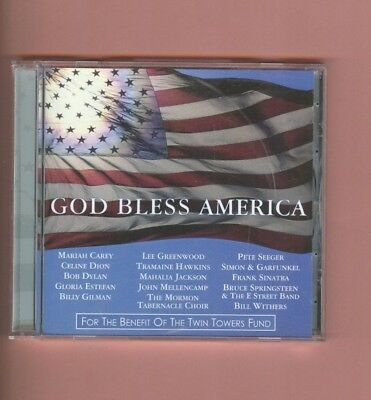 God Bless America   Various Artists Cd For The Benefit Of The Twin Towers Fund
