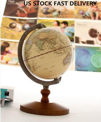 US Gift Work Educational Decor Model Vintage Reference Atlases Maps World Globe