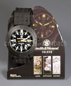 SMITH & WESSON SWISS TRITIUM  Militär  Uhr  Armbanduhr  Outdoor  SWW-12T-N