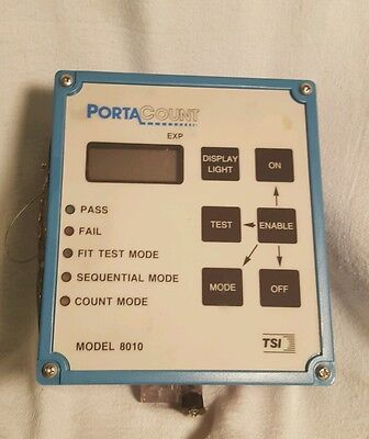 Tsi Portacount Respirator Fit Tester 8010 Lowest Price On Ebay