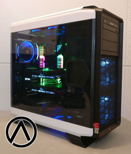 Intel Core I9-7980xe Geforce Gtx 1080 Ti Sli 64gb M2 Ssd 1tb 4k Gaming Computer