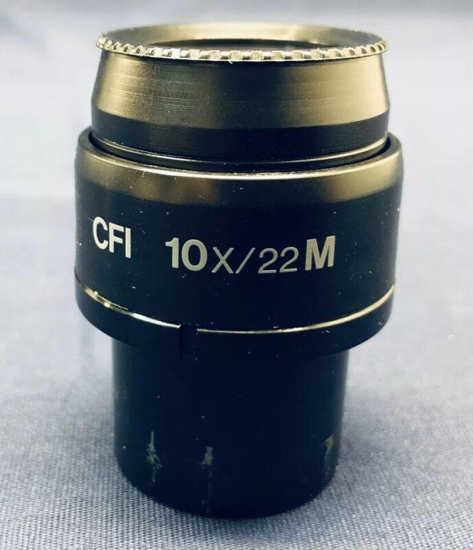 Nikon CFI 10x/22 M Microscope Eyepiece Eclipse I Series