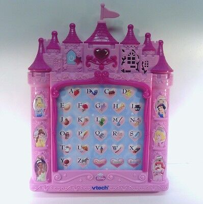 Pink Vtech Disney Princess Castle Alphabet Learning Pad