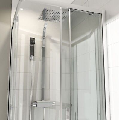 Used, Nabi Chrome Effect Thermostatic Bar Mixer Shower with Diverter (B) for sale  Chesterfield