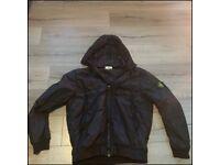 Stone island crinkle reps jacket XXL IN BLACK