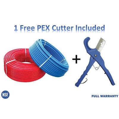 2 Rolls 34 Inch X 100 Feet Pex Tubing For Potable Water W Free Pex Cutter