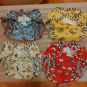 4 Kushies diaper covers