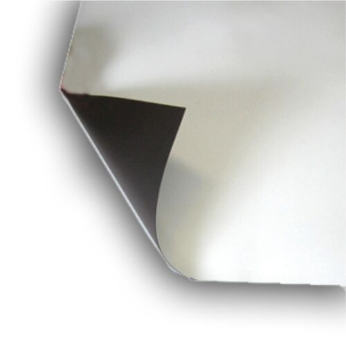 """Lot 2  32"""" x 22"""" Magnetic light weight flexible 20 mil Magnet Blank Color White"""