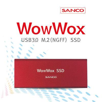 [SANCO]  WowWox USB3.0 M.2(NGFF) 240GB Portable SSD