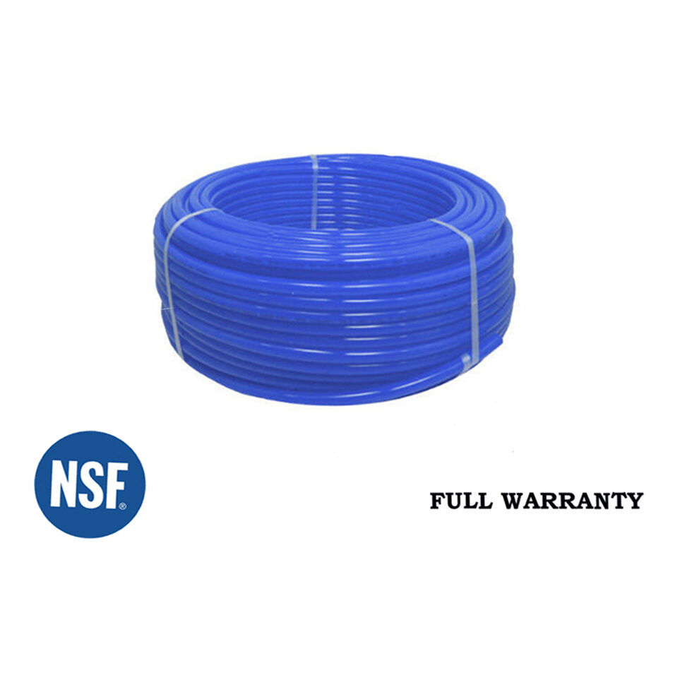"""1//2/"""" Oxygen Barrier Pex Tubing 300/' Red And 300/' Blue For Water Plumbing HQ"""