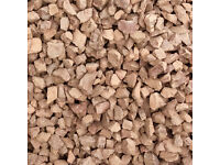 Garden Chips - red granite chips
