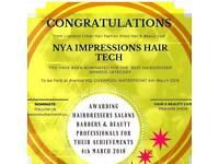 Mobile hair extensions & Braids Merseyside Micro rings Weave Nano rings LA weave Prebonds Tape ins