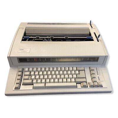 Vintage Ibm Wheelwriter 1000 By Lexmark Electric Typewriter 6781-024 Tested