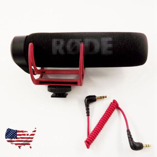 For Videomic VidMic GO Camera Shoe Mount Lyre Onboard Microphone With Windshield