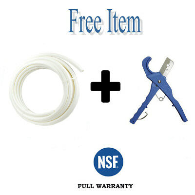 1 X 100 Ft Pex Pipe Tubing Pex-b For Potable Water Non-barrier White 1 Item