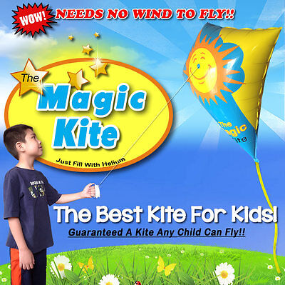 The Magic Kite, Needs No Wind To Fly...The Best Kite For
