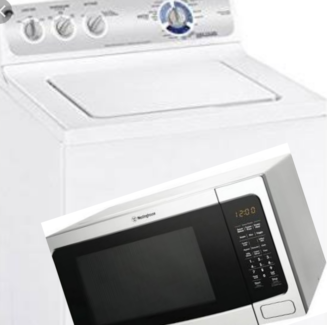 Wanted: HELP PLEASE! WASHING MACHINE & MICROWAVE
