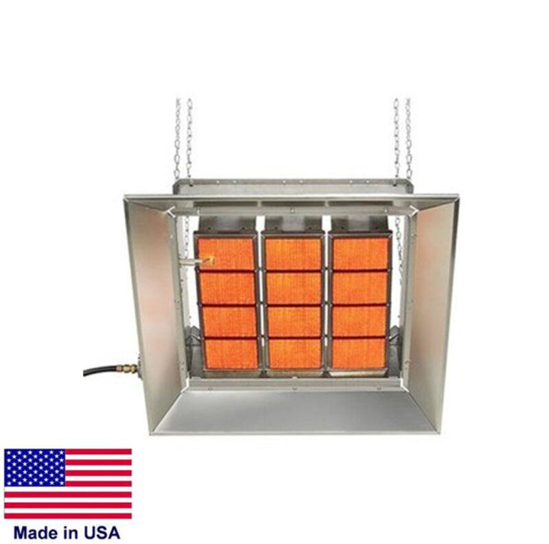 HEATER - Commercial - Ceramic Infrared - Natural Gas - Aluminum Stl  120,000 BTU