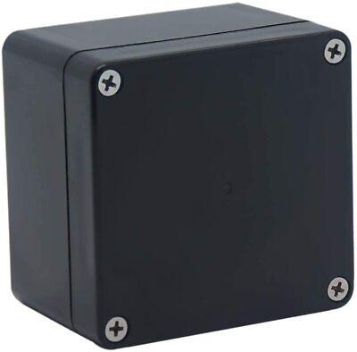 Raculety Project Box Ip65 Waterproof Junction Box Abs Plastic Black Electrica...