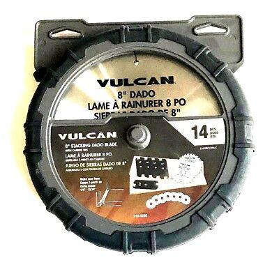 Dado Saw Blades - 14pc VULCAN 8