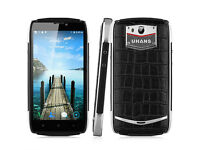 "New 5"" UHANS U200 4G Mobile Smartphone Android 5.1 Quad Core 16GB/2GB Leather Back GPS UNLOCKED 2SIM"
