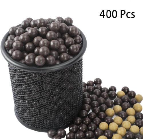 Slingshot Ammo Ball 400 PCS Natural Clay Ball Dia. 3/8 inch or 9-10 mm